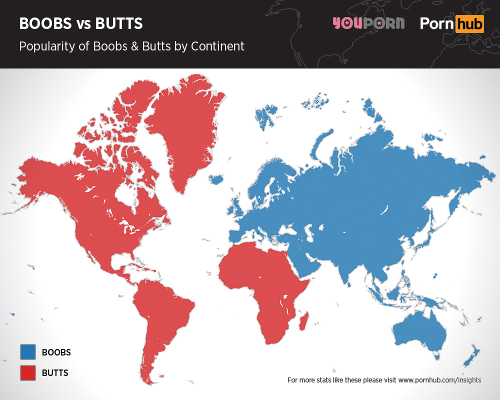 porn hub fetish map boobs butts and best of nois3